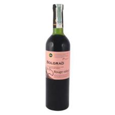Вино Bolgrad Rouge select Красное полусладкое 0.75 ст.