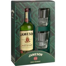 Виски Джемесон набор 0.7мл +2 стакана