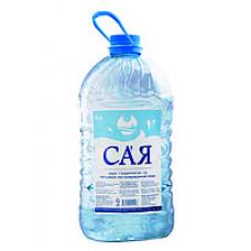 """Питьевая вода """"Сая"""" негазированная 5 л"""