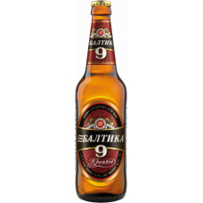 Пиво Балтика-9 0,5 бут.