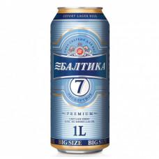 Пиво Балтика-7 1л ж/б