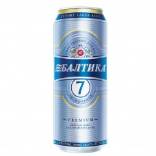 Пиво Балтика-7 0,5 ж/б
