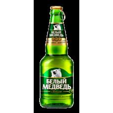 Пиво Белый медведь Светлое 0,5 бут.