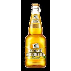 Пиво Белый медведь Мягкое 0,5 бут.