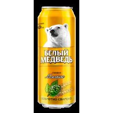 Пиво Белый медведь Мягкое 0,5 ж/б