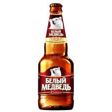 Пиво Белый медведь Крепкое 0,5 бут.