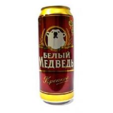 Пиво Белый медведь Крепкое 0,5 ж/б