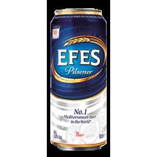 Пиво Efes Pilsener 0,5 ж/б