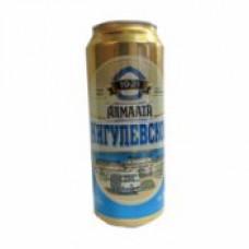 Пиво Алма-Ата Жигулёвское 0,5л бан
