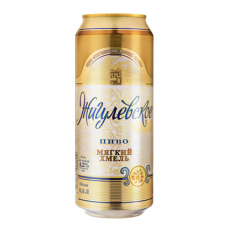 Пиво Жигулевское Мягкий хмель 0.5 ж/б