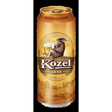 Пиво Велкопоповицкий Козел Светлое 0,5 ж/б
