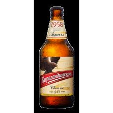 Пиво Карагандинское 0,5 бут.