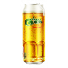 Пиво Кружка свежего мягкое 0,5 жб