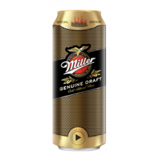 Пиво Миллер Дженьюин Драфт 0,5 жб