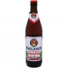 Пиво ПАУЛАНЕР. БЕЗАЛКОГОЛЬНОЕ 0.5л ст/б