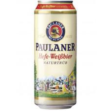 Пиво Paulaner Hefe-weissbier 0.5 ж.б