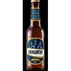 Пиво Павлодарское Крепкое бутылочное 0.5л