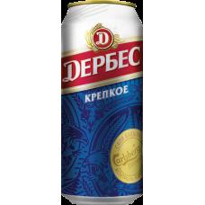 Пиво Дербес Крепкое 0,5 ж/б