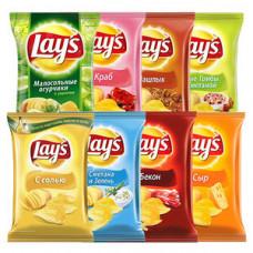 Чипсы LAY`S в ассортименте 80 гр