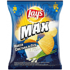 Чипсы LAY`S Max в ассортименте 75 гр