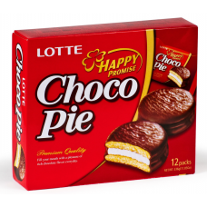 LOTTE Chocolate Pie 12шт