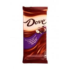 Шоколад DOVE Молочный/фундук/изюм 90г.
