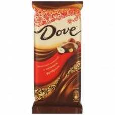 Шоколад DOVE молоч.с цел.фундук