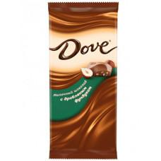 Молочный шоколад DOVE с дроб.фундуком