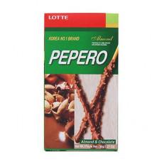 Соломка PEPERO Almond (с шок.алмз.) 50 гр